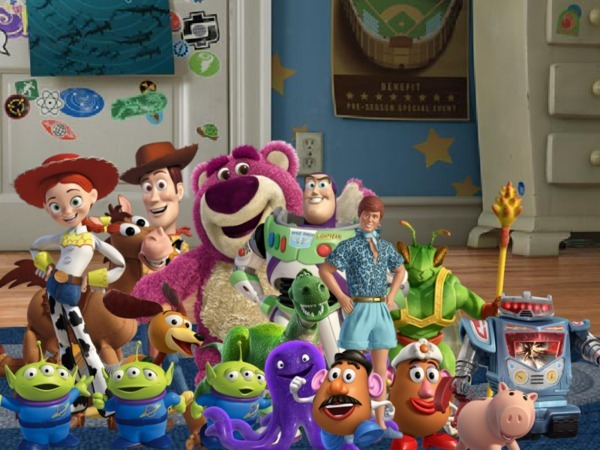 All the toys from toy story 123